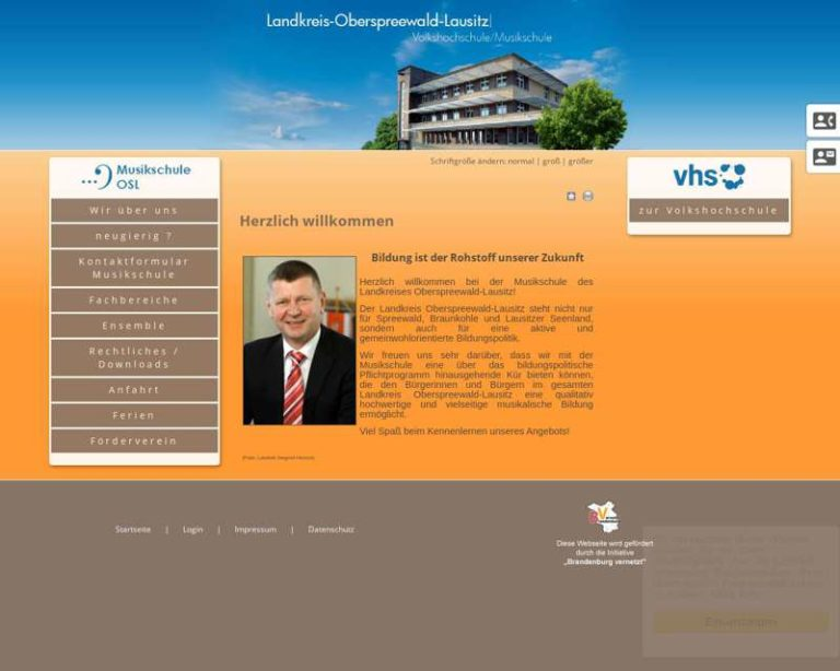 Screenshot (middle) http://www.musikschule-osl.de
