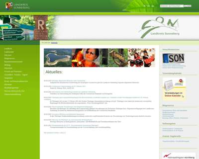 Screenshot (small) http://www.kreis-sonneberg.de