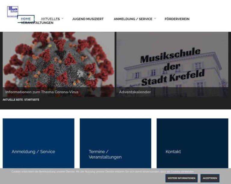 Screenshot (middle) http://www.musik.krefeld.schulen.net/