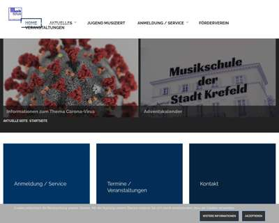 Screenshot (small) http://www.musik.krefeld.schulen.net/