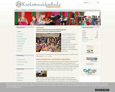 Screenshot (small) http://www.kreismusikschule-ovp.de