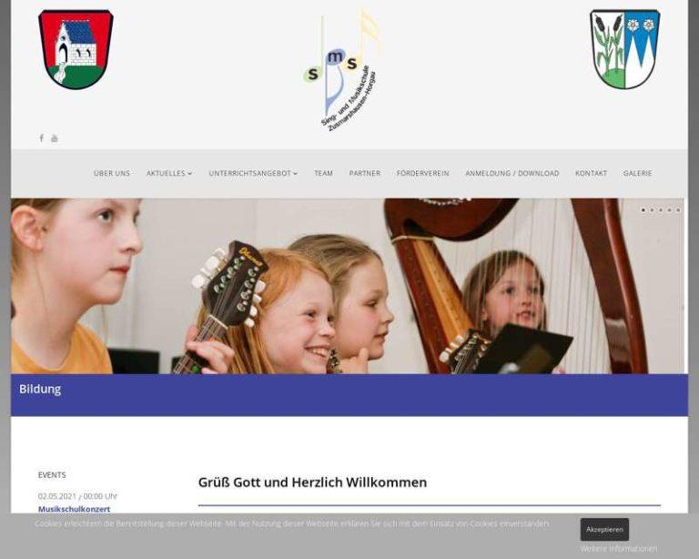 Screenshot (middle) http://www.smszh.de