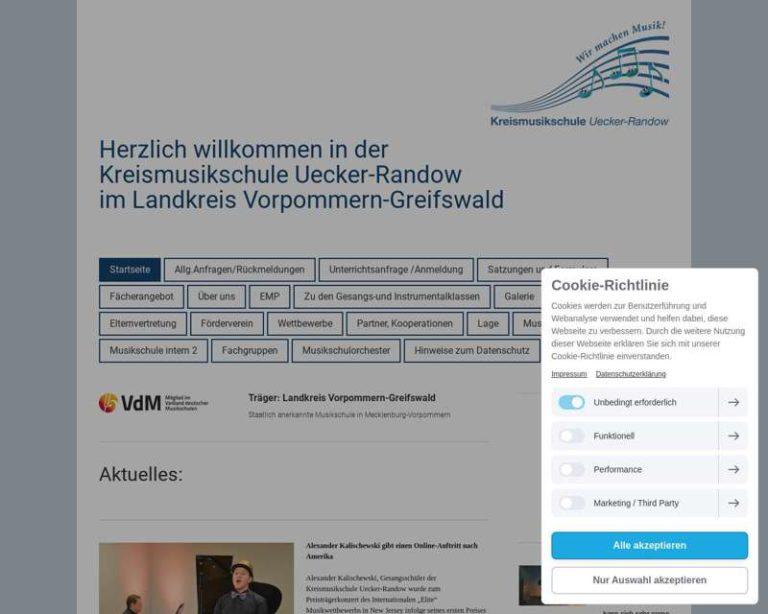 Screenshot (middle) http://www.kms-uer.de