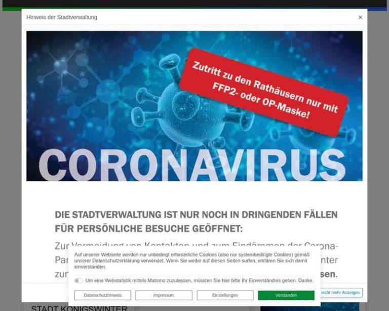 Screenshot (middle) http://www.koenigswinter.de