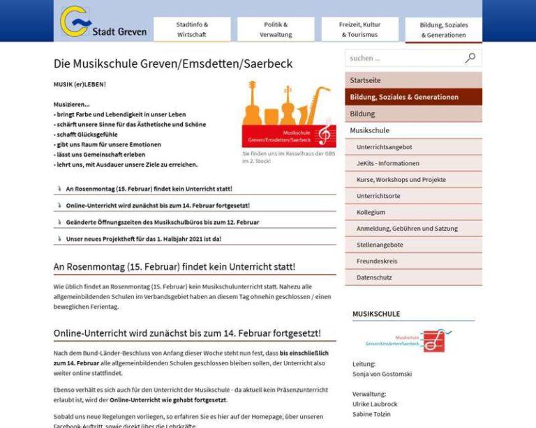Screenshot (middle) http://www.musikschule-ges.de
