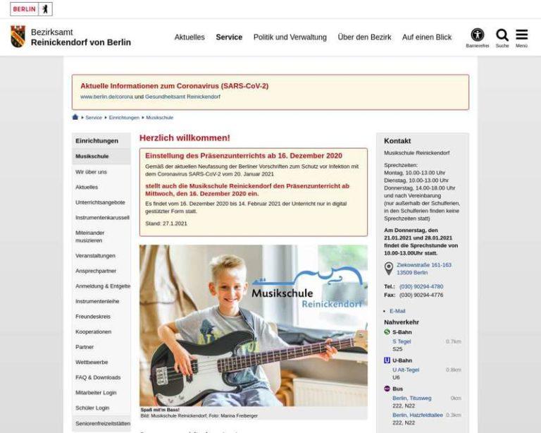 Screenshot (middle) http://www.musikschulereinickendorf.de