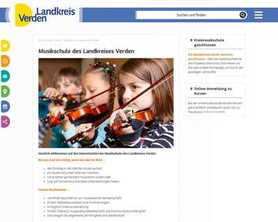 Screenshot (small) http://www.musikschule-verden.de