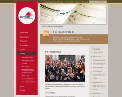 Screenshot (small) http://www.jms.goeppingen.de