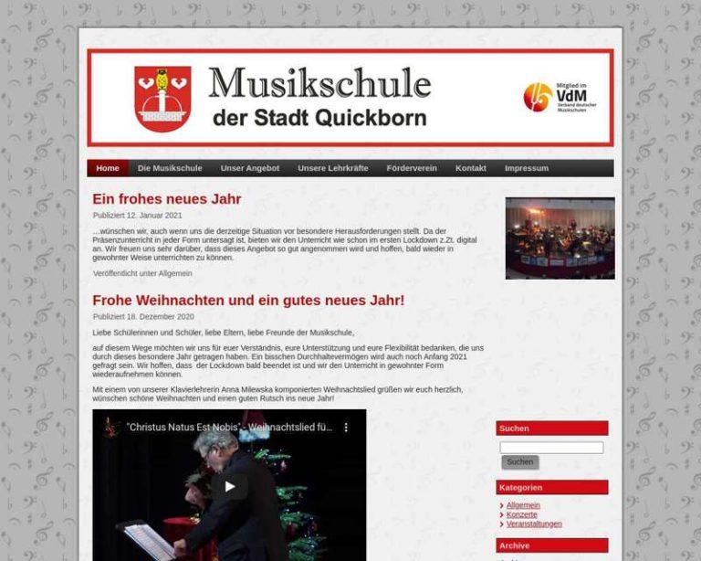 Screenshot (middle) http://www.musikschule-quickborn.de