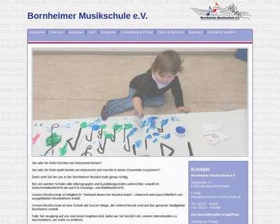 Screenshot (small) http://www.bornheimer-musikschule.de