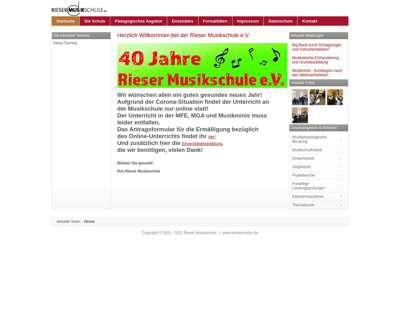 Screenshot (small) http://www.riesermusikschule.de