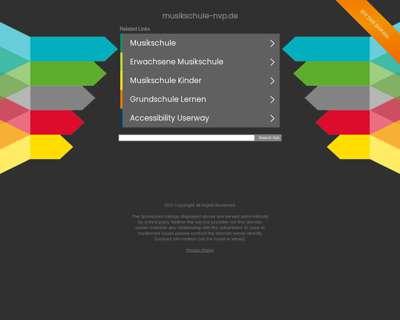 Screenshot (small) http://www.musikschule-nvp.de