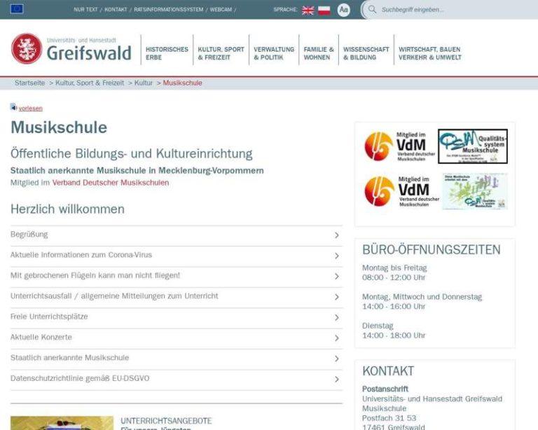 Screenshot (middle) http://www.greifswald.de/musikschule
