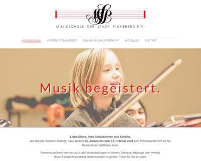Screenshot (small) http://www.musikschule-pinneberg.de