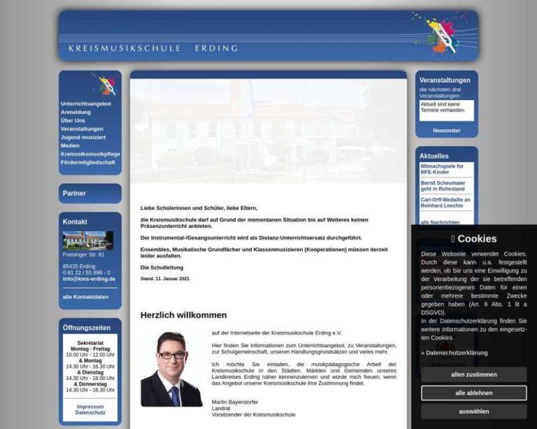 Screenshot (middle) http://www.kms-erding.de
