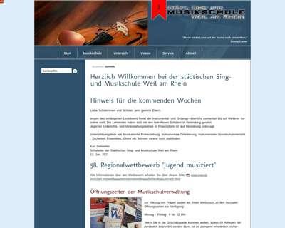 Screenshot (small) http://www.musikschule-weil-am-rhein.de