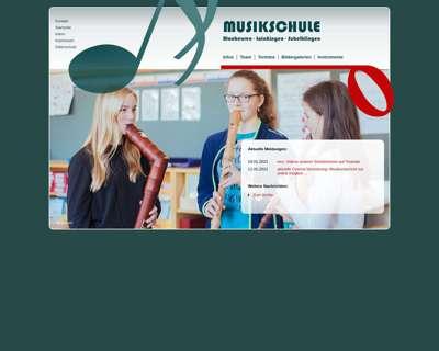 Screenshot (small) http://www.musikschule-bls.de