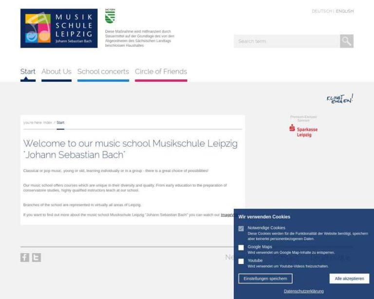 Screenshot (middle) http://www.musikschule-leipzig.de