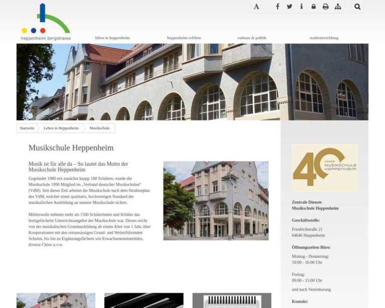 Screenshot (middle) http://www.heppenheim.de/musikschule