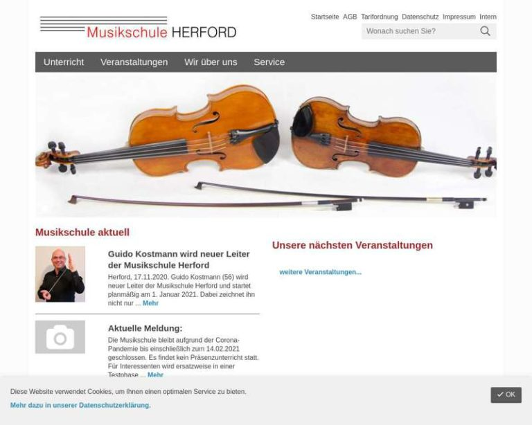 Screenshot (middle) http://www.musikschule.herford.de