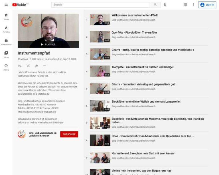 Screenshot (middle) http://www.musikschule-kronach.de