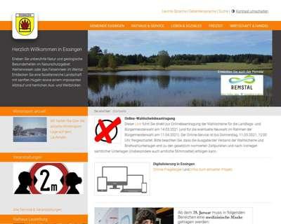Screenshot (small) http://www.essingen.de