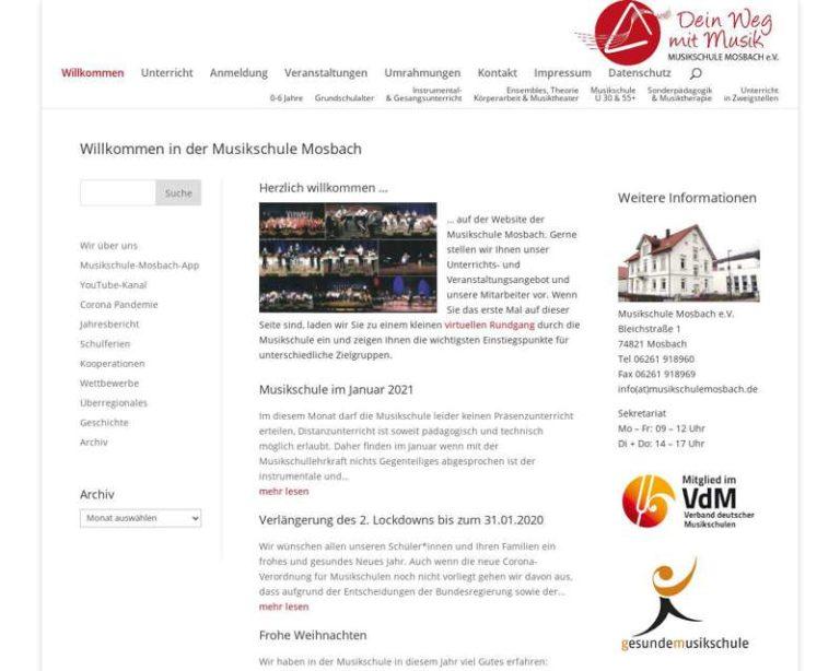 Screenshot (middle) http://www.musikschule-mosbach.de
