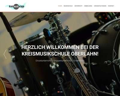 Screenshot (small) http://www.kreismusikschule-oberlahn.de
