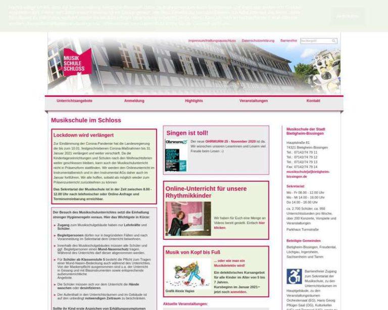 Screenshot (middle) http://musikschule.bietigheim-bissingen.de