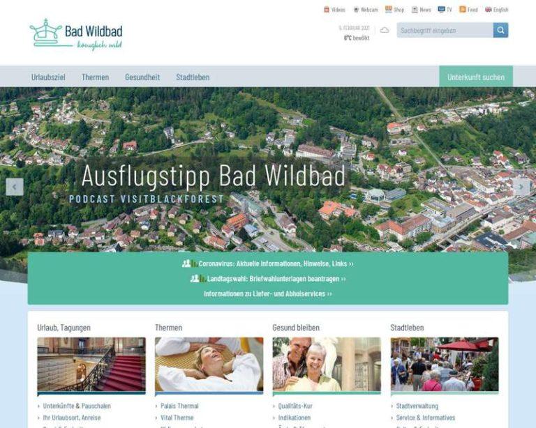 Screenshot (middle) http://www.bad-wildbad.de