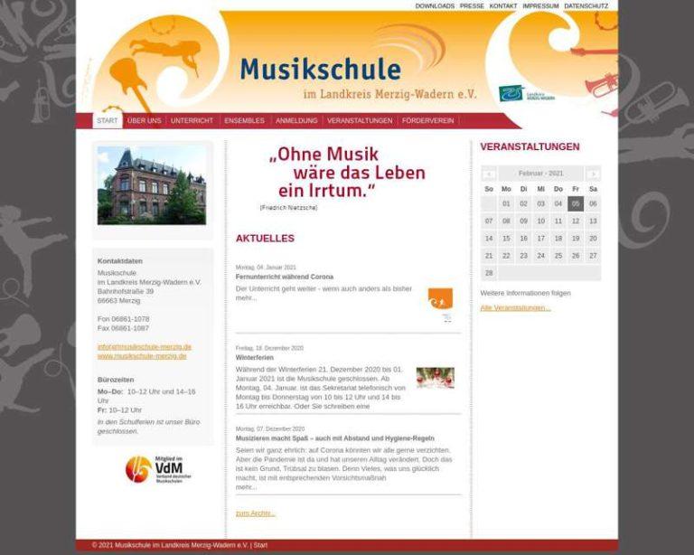 Screenshot (middle) http://www.musikschule-merzig.de