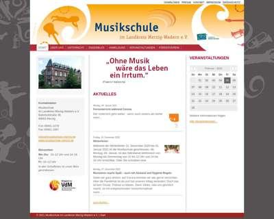 Screenshot (small) http://www.musikschule-merzig.de