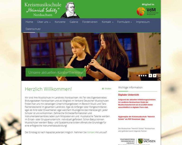 Screenshot (middle) http://www.heinrichschuetz.de