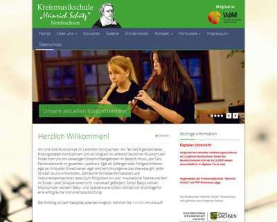 Screenshot (small) http://www.heinrichschuetz.de