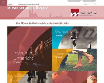 Screenshot (small) http://www.musikschule-goerlitz.de