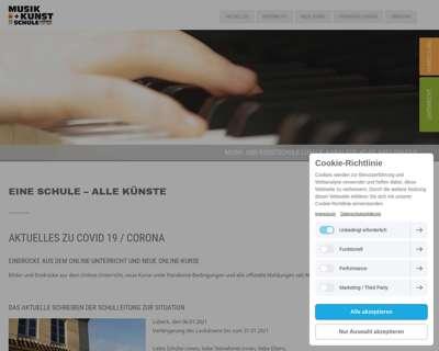 Screenshot (small) http://www.mks-luebeck.de
