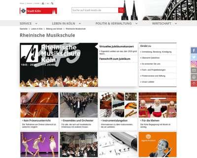 Screenshot (small) http://www.rheinische-musikschule.de