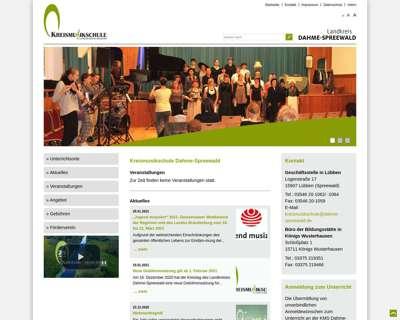 Screenshot (small) http://www.kms.dahme-spreewald.de