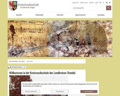 Screenshot (small) http://musikschule.landkreis-stendal.de