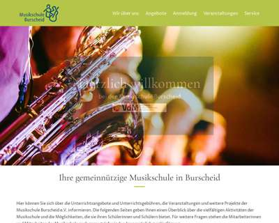 Screenshot (small) http://www.musikschuleburscheid.de